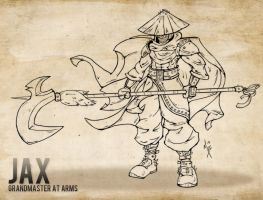 Jax - Grandmaster at Arms by Nhazul-Anims