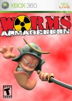 worms 2 xbox cover by x-Andy-Sixx-x