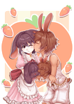 Bunny Love by Adeshark