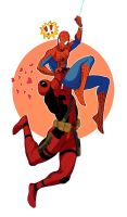 Spideypool by vythefirst