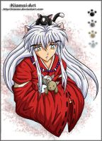 Inuyasha - The cat-sitter by Klamsi