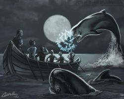 Killer Whale Enemies by CharReed