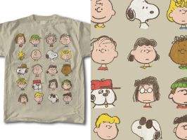 T-Shirt Design Peanuts 01 by RobDuenas