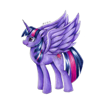 Twilight Sparkle by CHRISLOVER4LYFE