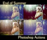 Free End Of Summer Photoshop Actions by ibjennyjenny