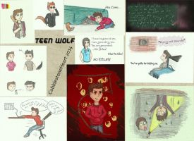 Teen Wolf Art Collection by CobblestoneHeart