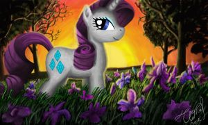 Rarity in the evening forest by IoannTulynkin