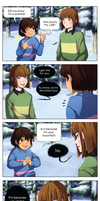 [UnderTale] Anti-Pick up line by bente36