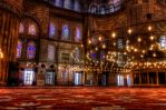 Blue Mosque Interior HDR by AneiKhaar