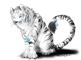 Saraki.:.White Tigress by WhiteSpiritWolf