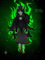Jade Being Extraordinarily Ominous by rhealha13