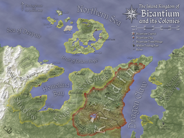 Revised Bizantium Map by FeroceFV
