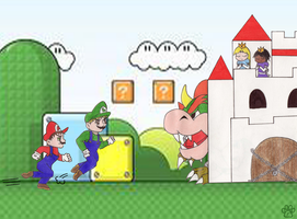 Mario friends by TOM-CATS