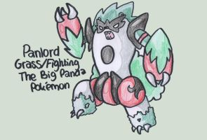 Fakemon 003: Panlord by BoredX