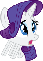 Rarity is a Ghast! by NurseTenderheart