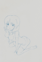 Haruka drawing by whitechariot
