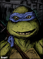 Leonardo's Portrait by PowderAkaCaseyJones