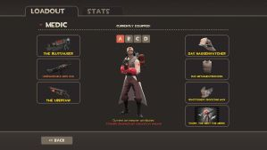 TF2 Medic Loadout by zOMG-a-DropBear