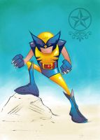 """Lil"" Wolvie by irongiant775"