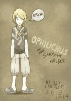 Ophiuchus: The Serpent Holder by nottisweettoothi