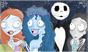 Corpse Bride Meets NBC by Leenspiration