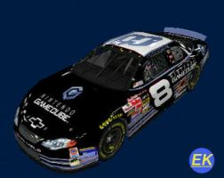 No. 8 Gamecube NASCAR by genis97426