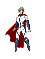 Justice League Elite: POWER GIRL by pipe07