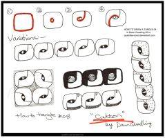 How to Draw Tangle 08 Catton_quaddles-roost by Quaddles-Roost