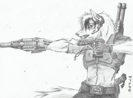 Give it some bullets... by LycanthropeHeart
