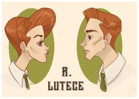 Lutece Twins by BeatleJoose