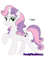 Adult Sweetie Belle by SandyNnaMoxa