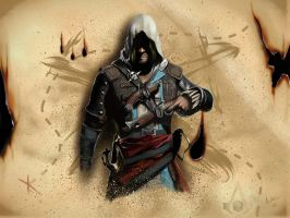 Edward Kenway by Airpainter13