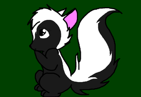Female Skunk by DPpuppy