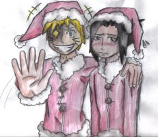 Sasunaru christmas request by ShadowHedg3hog