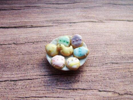 Miniature Easter Biscuits by SweetsOfMyOwn