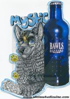 Mystic Drink Badge by ZinStone