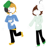 FANDOMSTUCK- Pewdiepie and Cry fandom by Psycho-CandyAddicted