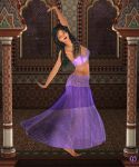 Belly dancer Alexandra by Chronophontes