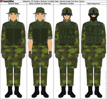 Selection Of Modern Tactical Soldiers by Tounushifan