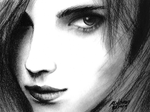 Sketch 04: Emma Watson by ThreeAM