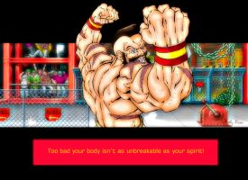 Zangief Win Quote by ShaneLongshadow