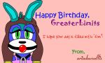 Happy Birthday GreaterLimits by ariadnesallix