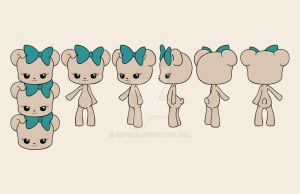 Bonnie Model Sheet by fritchie