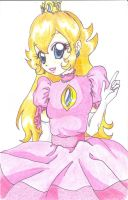 princess peach by WingFire