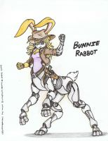 Bunnie Rabbot Taur Request by WMDiscovery93