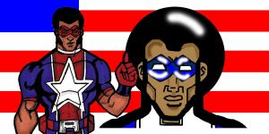Afro American banner by RWhitney75