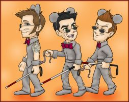 Tre Blind Mice by kelly42fox