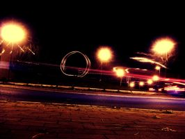 Midnight Roundabout Chaosss by aobaob
