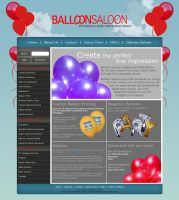 Balloon Saloon - Website by my-name-is-annie