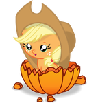 Apple Jack calabaza by slaugthervk